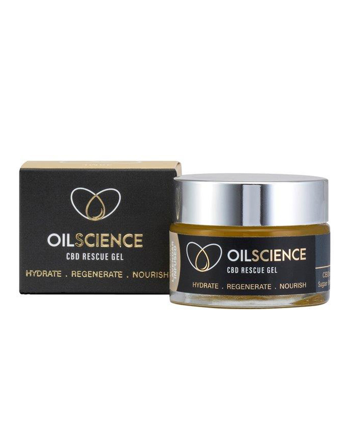Oil Science CBD Rescue Gel – 30ml Jar