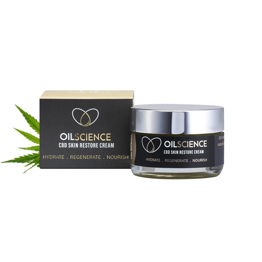 Oil Science CBD Skin Restore Cream – 50ml Jar