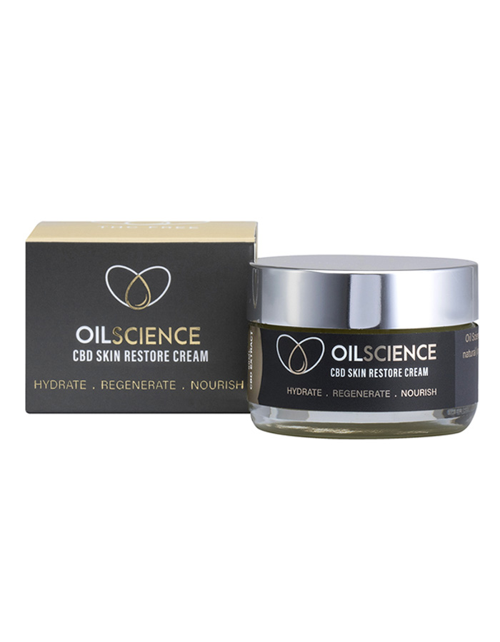 Oil Science CBD Skin Restore Cream – 50ml Jar