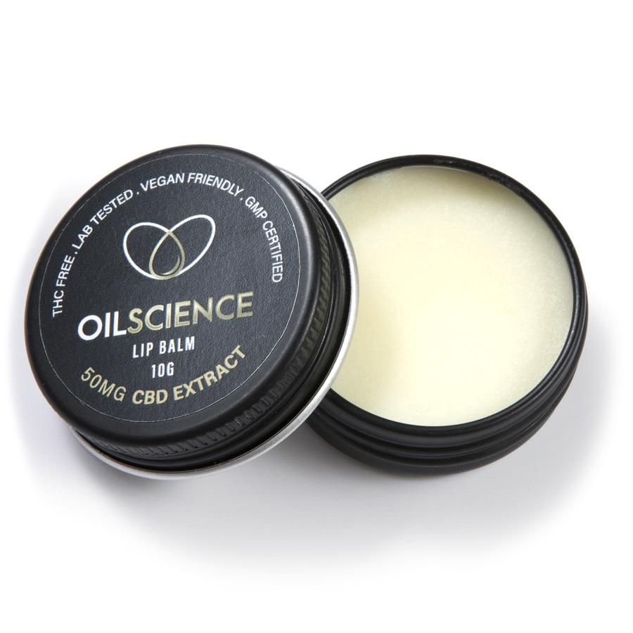 Oil Science 50mg CBD Lip Balm – 10g Tub