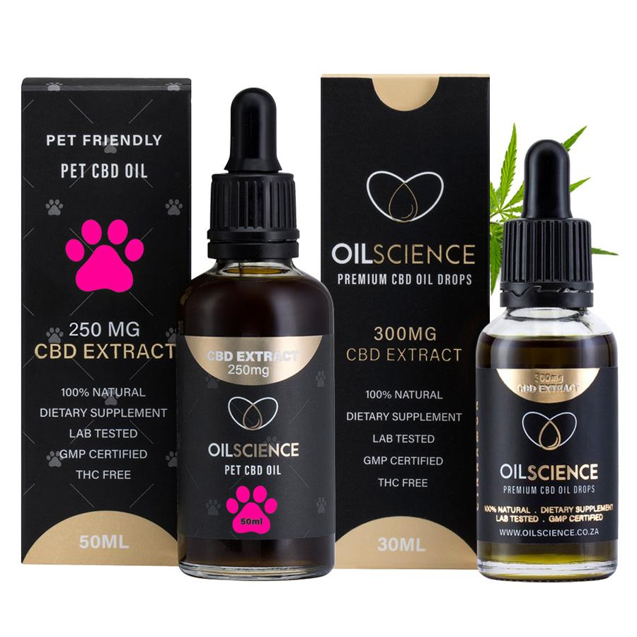 Oil Science CBD Family Bundle – Pet And Human CBD Oil