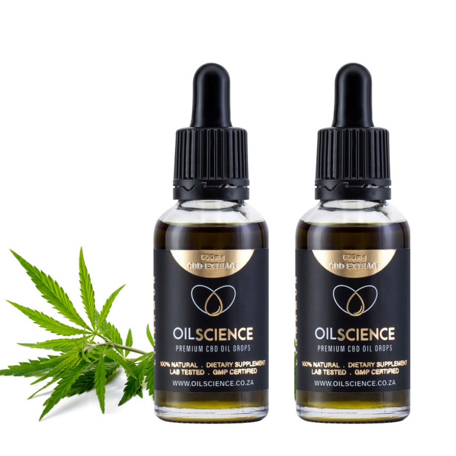 Oil Science 600mg CBD Bundle